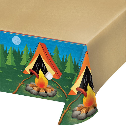Camp Out Table Cover