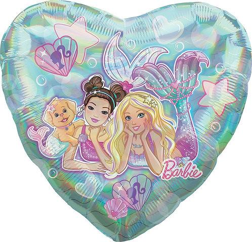 #77 Mermaid Barbie 18in Balloon