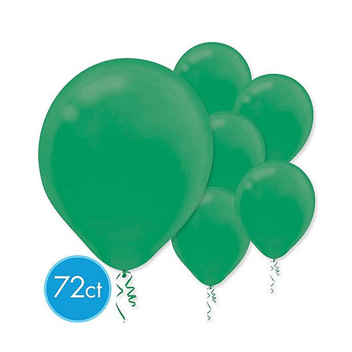 Green Latex Balloons - Packaged, 72ct