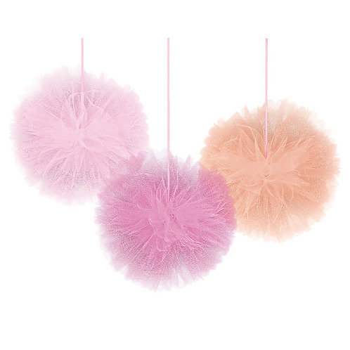 Deluxe Tulle Fluffy Decoration - Girl