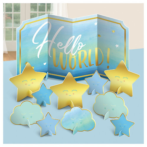 Oh Baby Boy Table Centerpiece Decoration