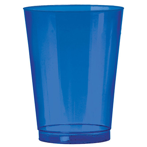 Royal Blue 10oz Plastic Cups 72ct