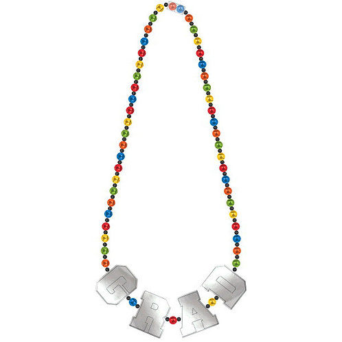 Grad Deluxe Bead Necklace