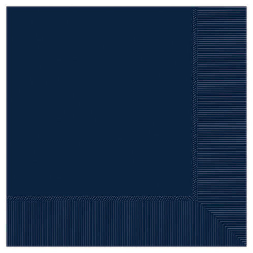 Navy Blue Lunch Napkins 50ct