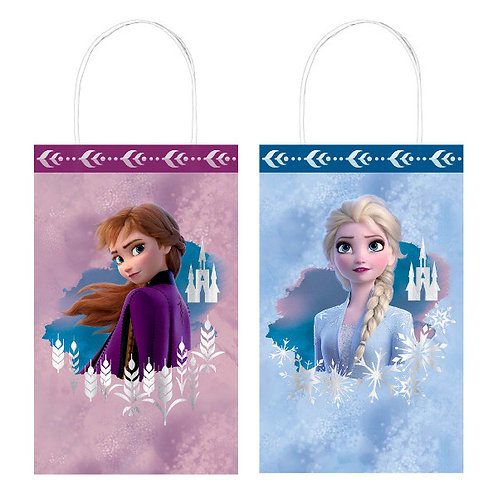 Frozen 2 Hot Stamped Kraft Bags 8ct