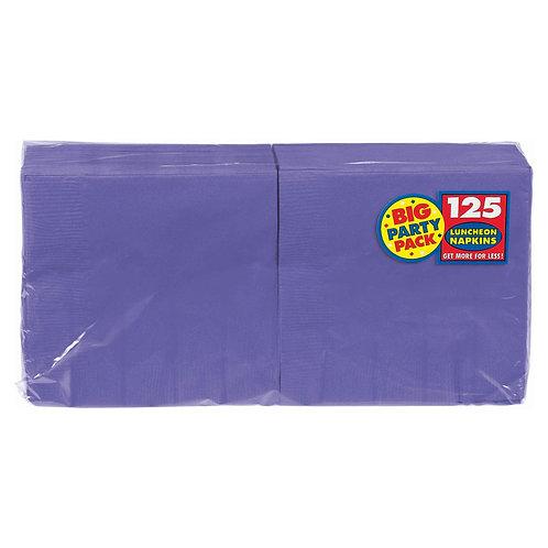 Purple Lunch Napkins 125ct