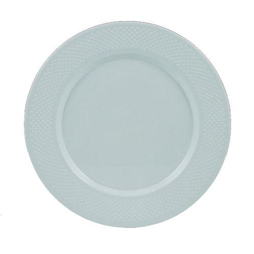 Concord White 10in Plastic Plates 15ct
