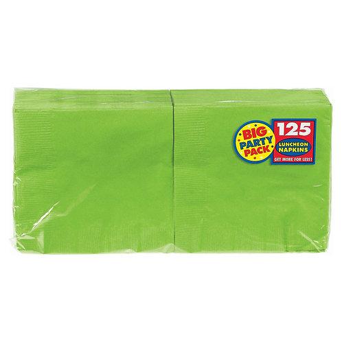 Kiwi Green Lunch Napkins 125ct