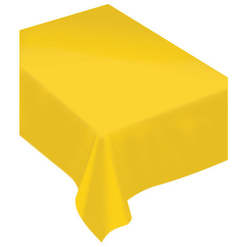Apple Yellow Fabric Tablecloth
