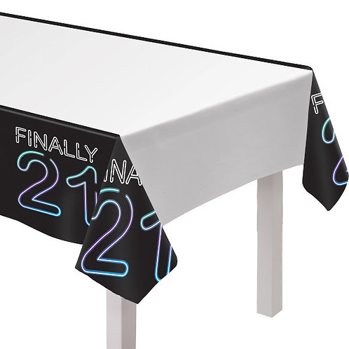 Finally 21 Plastic Table Cover