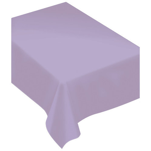 Lavender Fabric Tablecloth