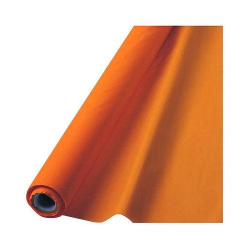 "Orange Table Roll 40"" x 100'"