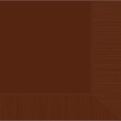 Brown Luncheon Napkins 50ct