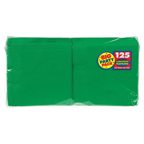 Green Lunch Napkins 125ct