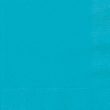 Caribbean Teal Luncheon Napkins 20ct
