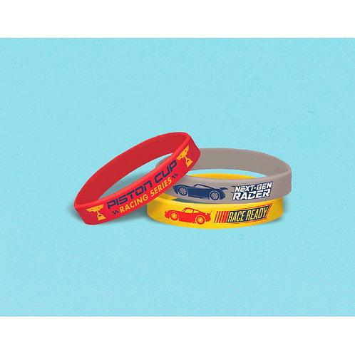 CARS 3 Rubber Bracelets 6ct