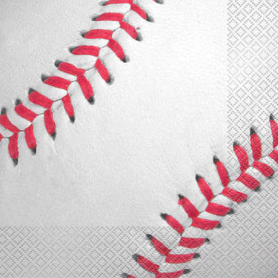 Baseball Lunch Napkins 16ct