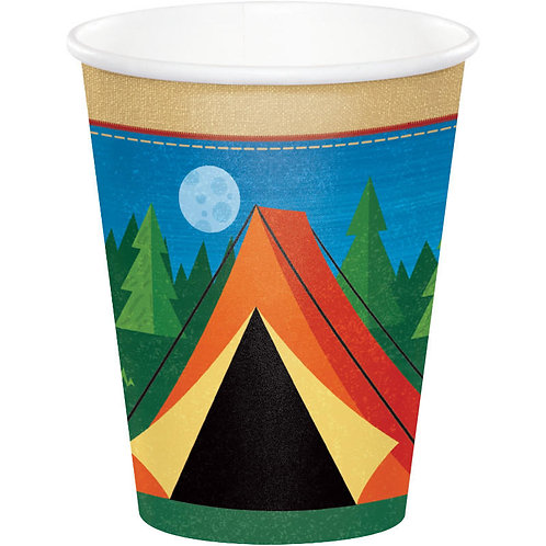 Camp Out Paper Cups 8ct