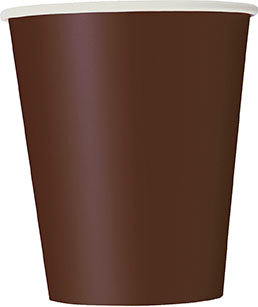 Brown 9oz Paper Cups 14ct