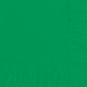 Emerald Green Luncheon Napkins 20ct