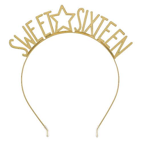Blush Sixteen Star Metal Headbands 6ct