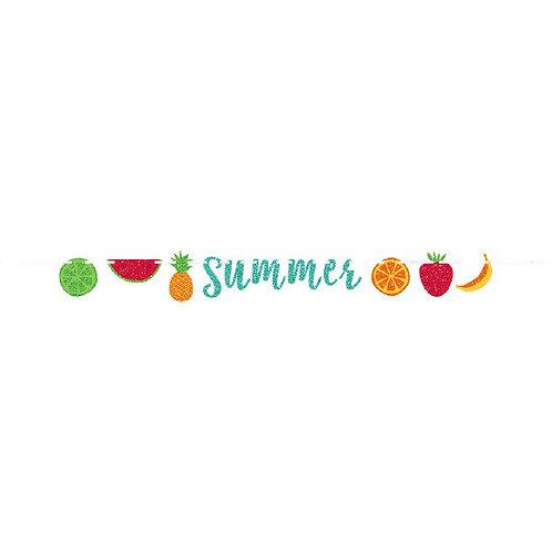 Fruit Ribbon Letter Banner