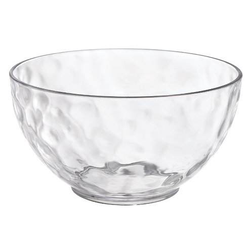 Hammered Clear Small 11oz Bowls 3ct