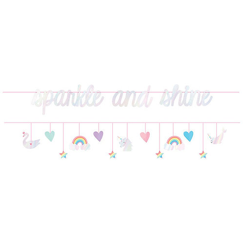 Magical Rainbow Birthday Double Banner Multipack