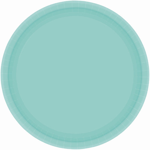 Robins Egg Blue 7in Paper Plates 20ct