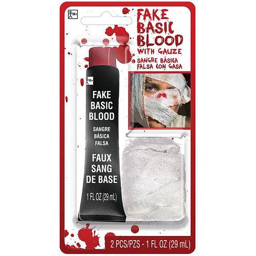 Blood with Gauze