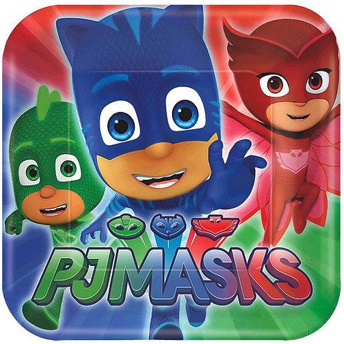 PJ Masks Dessert Plates 8ct