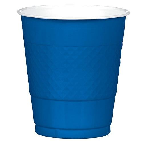 Royal Blue 12oz Plastic Cups 20ct