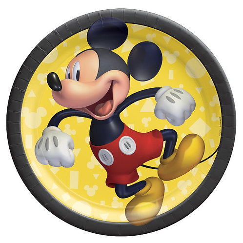Mickey Mouse Forever 7in Plates 8ct