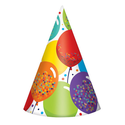 Birthday Celebration Cone Hats 24ct