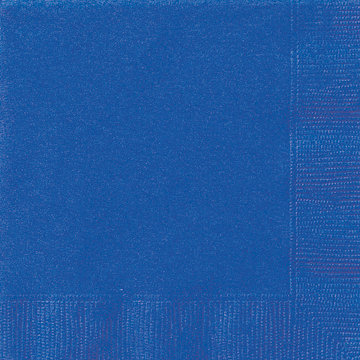 Royal Blue Beverage Napkins 20ct