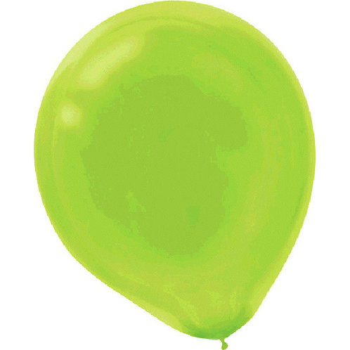 Kiwi Green 9in Latex Balloons - Packaged, 20ct