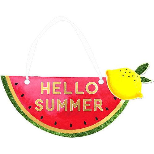 Fruit Mini Message Sign