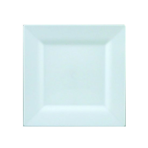 Simply Squared White 4.75in Plastic Plates 10ct