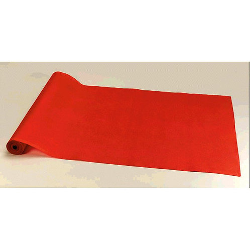 Red Fabric Floor Runner 15' x 2'