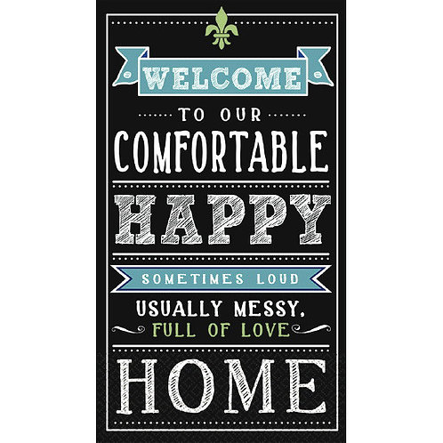 Happy Home Guest Towels 16ct