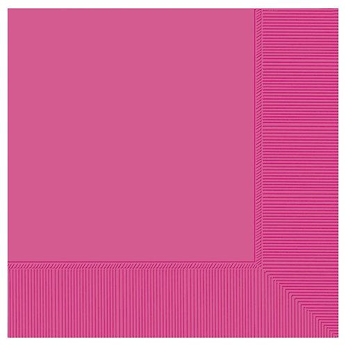 Bright Pink Dinner Napkins 20ct