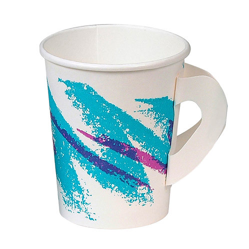 Paper Hot Cup With Handle 50ct