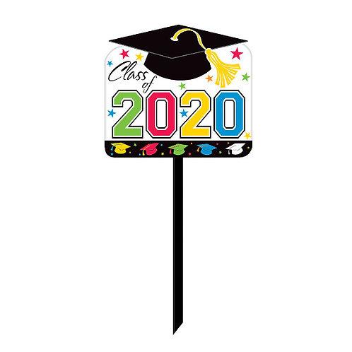 2020 Grad Yard Sign