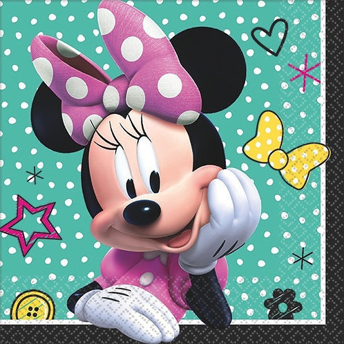 Minnie Mouse Happy Helpers Beverage Napkins 16ct