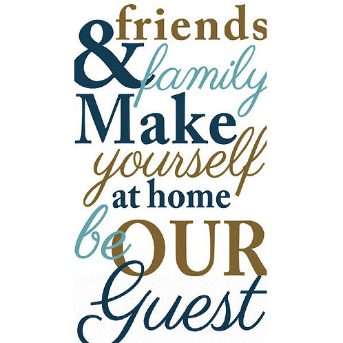 Friends & Family Guest Towels 16ct