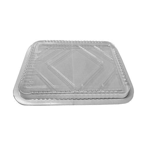 Aluminum Oblong Pan 5lb. Plastic Dome Lid