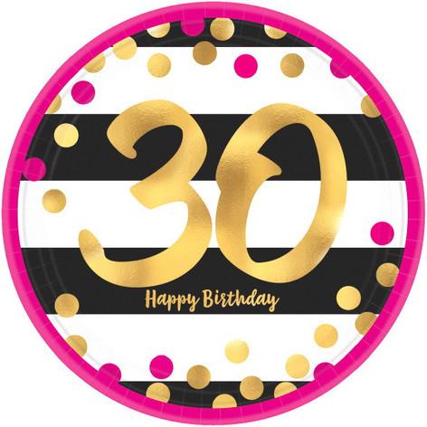 Pink & Gold Milestone