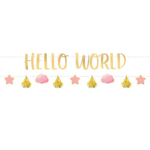 Oh Baby Girl Letter Banner Kit