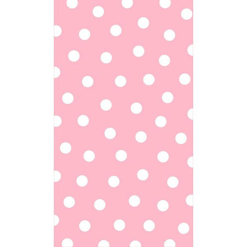 Pink Polka Dots Guest Towels 16ct