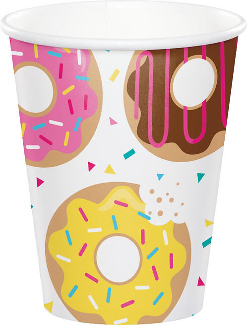 Donut Time Paper Cups 8ct